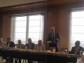 Gregory Rusovich addresses World Trade Center International Trade Committee